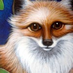 """""""Red Fox is Watching You"""" By Cyra Cancel"""