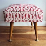 red exclaim footstool